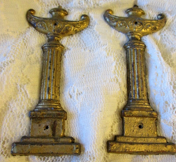 22 Old Solid Brass Clock & Furniture Ormaments for your Projects - Steampunk Art - Metalworking
