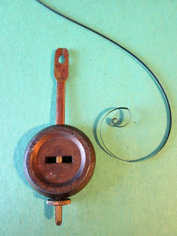 1 Original 2.4 ounce Ansonia Clock Adjustable Pendulum for your Clock Projects - Steampunk Art - Metelworking
