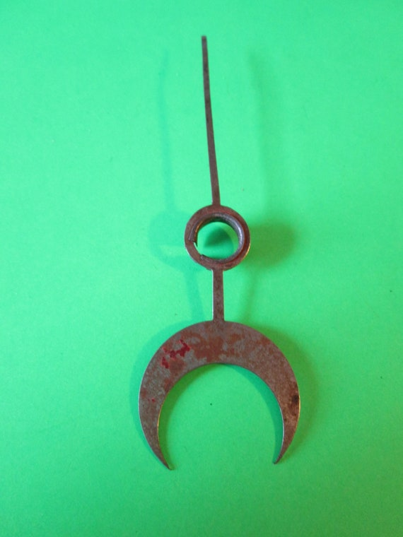 """4"""" Rusty Steel Calander Clock Hand for your Clock Projects and Etc.Stk # 612"""