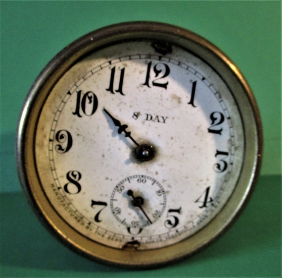 """2 3/4"""" Antique Sessions Clock Company Partial Works for Repair/Parts Stk# 691"""