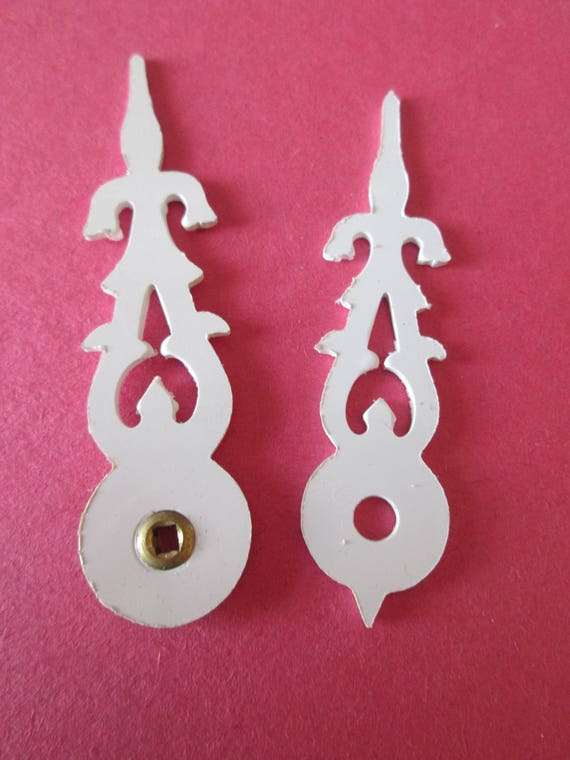 1 Pair of Large New Plastic Cuckoo Clock Hands with Bushing for your Cuckoo Clock Projects, Steampunk Art