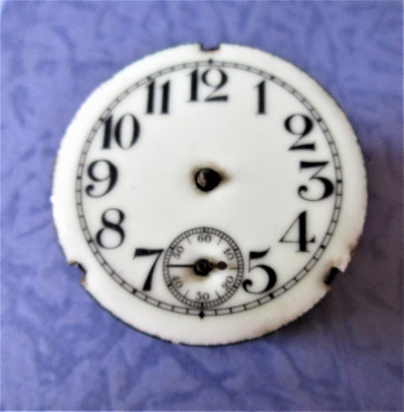 "Small 2"" Vintage Partial Clock for your Clock Projects - Steampunk Art  Stk# 519"