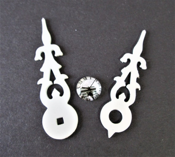 Nice Pair of Large Fancy Plastic Cuckoo Clock Hands for your Cuckoo Clock Projects - Art -