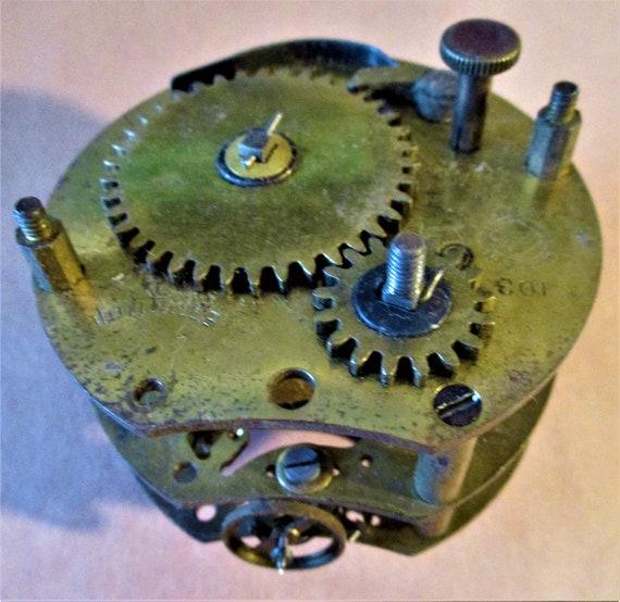 Small Antique Seth Thomas Partial Clock for Repair/Parts - Steampunk Art -  Stock# 638