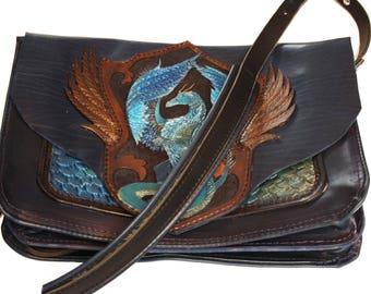 A Dragon Messenger Bag