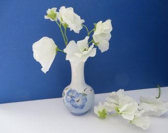 Royal Copenhagen vintage 1960's blue floral  small bud vase
