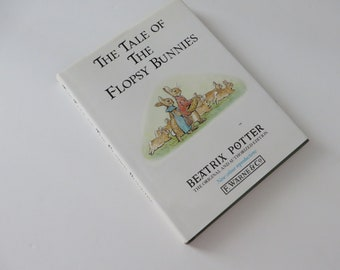 Beatrix Potter 1988 Tale of the Flopsy Bunnies vintage book
