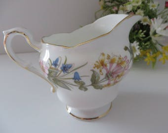 Paragon 1960's vintage  Country Lane creamer jug
