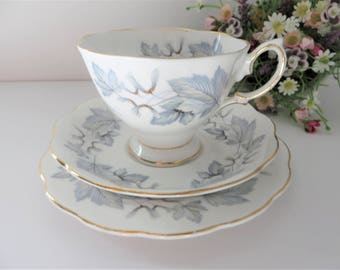 Royal Albert vintage 1960's Silver Maple  Tea trio