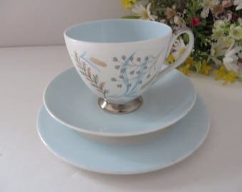 Queen Anne vintage 1950's Glade Tea trio