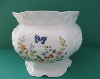 Aynsley vintage 1970's large Cottage Garden planter pot