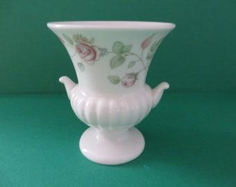 Wedgwood Rosehip vintage 1990's urn vase