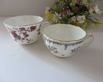 Minton vintage 1950's set of two tea cups