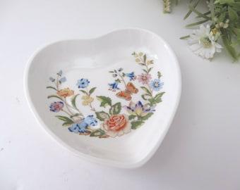 Aynsley vintage cottage garden  ring dish