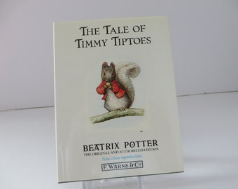 Beatrix Potter 1989 Tale of Timmy Tiptoes vintage book