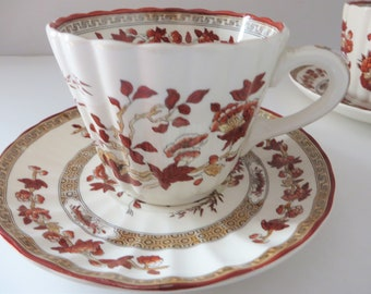 Spode Vintage 1980's Indian tree Tea cup and saucer