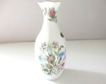 Aynsley vintage 1970's Chalfont style Wild tudor vase