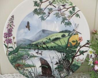 Wedgwood  Lakeside vintage 1980's plate