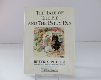 Beatrix Potter 1989 The Tale of the Pie and the Patty Pan vintage book