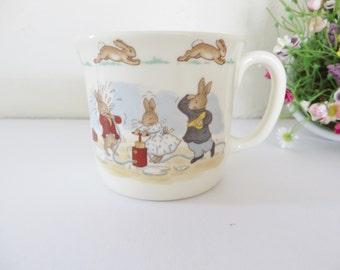 Royal Doulton Bunnykins vintage 1980's mug