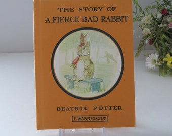 Beatrix Potter 1979 Story of a fierce Bad Rabbit vintage book