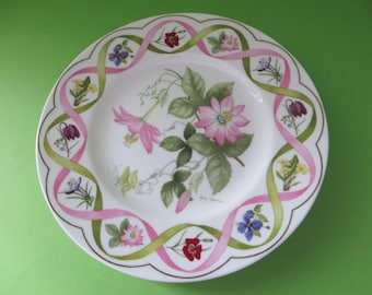 Wedgwood vintage 1990's Passion Flower plate. 2nd quality