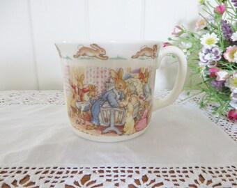 Royal Doulton vintage 1988 Bunnykins mug