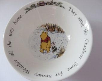 Royal Doulton Winnie the Pooh Vintage 1990's bowl