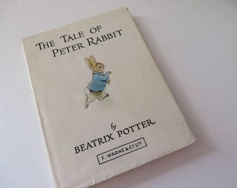 Beatrix Potter 1987 tale of Peter Rabbit vintage book
