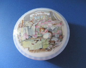 Brambly Hedge vintage 1987 The Birthday trinket box