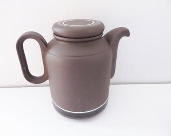 Hornsea vintage 1970's Contrast coffee pot