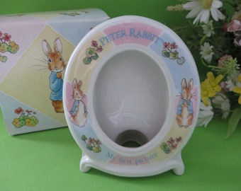 Wedgwood Peter Rabbit vintage 1990's First picture frame