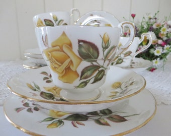 Paragon Vintage 1950's-1970's Sunset teacup and saucer set