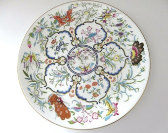 Royal Worcester vintage 1978 Exotic Butterflies decorative plate
