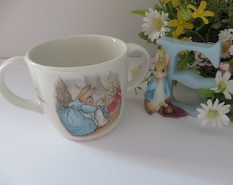 Beatrix Potter vintage 1990's Peter Rabbit mug