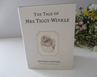 Beatrix Potter 2002 and the Tale of Mrs Tiggy Winkle book