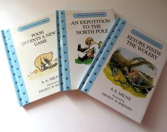Winnie the Pooh 1990's three vintage story books