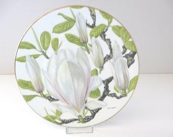 Royal Grafton Botanic gardens Magnolia decorative plate