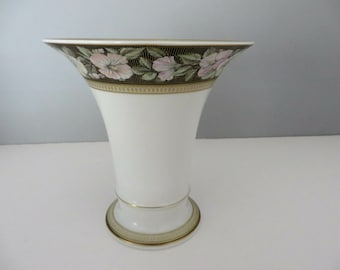 Kaiser West Germany vintage 1970's Floral vase