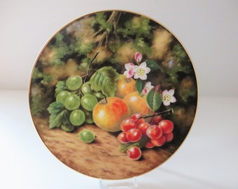 Royal Albert Spring fruits vintage 1990's plate