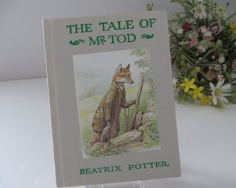 Beatrix Potter 1981 Tale of Mr Tod vintage book