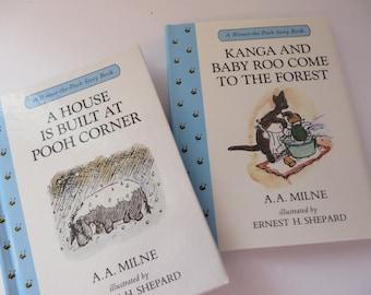 Winnie the Pooh vintage 1990's  story books