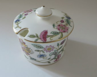 Minton vintage 1980's Haddon Hall lidded sugar pot