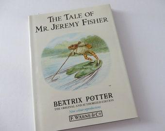 Beatrix Potter 1988 Tale of Jeremy Fisher vintage book