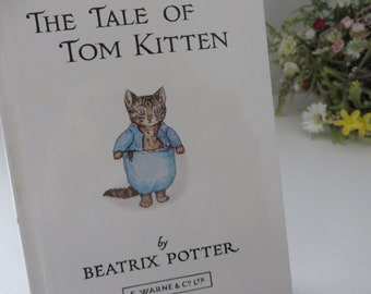 Beatrix Potter 1984 Tale of Tom Kitten vintage book