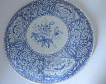 Spode vintage 1990's Blue Room cake plate