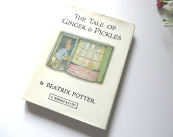 Beatrix Potter 1971 The Tale of Ginger and Pickles book
