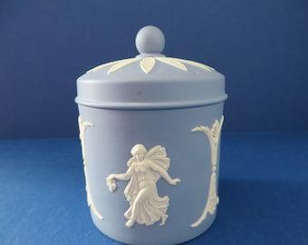 Wedgwood Jasperware vintage 1970's Trinket pot