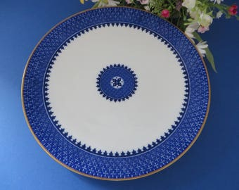 Wedgwood antique 1900's blue and white plate