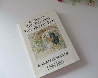 Beatrix Potter Tale of the Pie and the Patty Pan vintage 1974 book